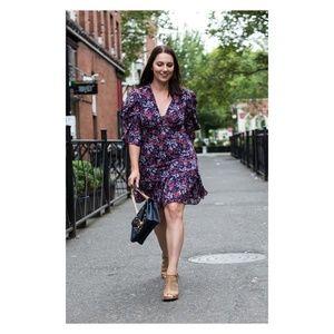 NEW!Michael Michael Kors Floral Georgette Dress